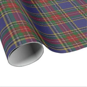 Clan MacBeth Scottish Tartan Wrapping Paper