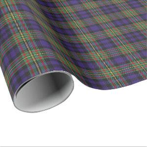 Clan MacLellan Scottish Tartan Wrapping Paper