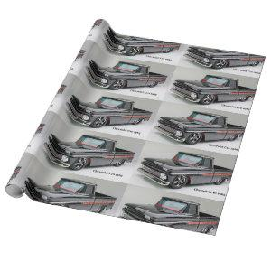 Classic car image for Matte-Wrapping-Paper