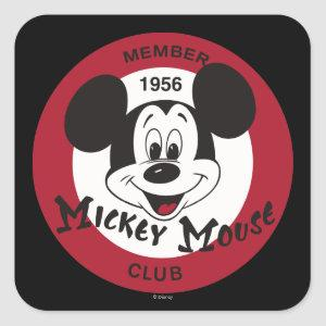 Classic Mickey | Mickey Mouse Club Square Sticker