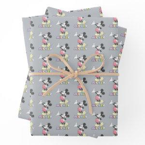 Classic Mickey Wrapping Paper Sheets