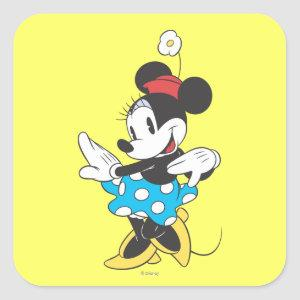 Classic Minnie | Sweet Square Sticker