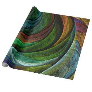 Color Glory Abstract Art Wrapping Paper