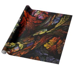 Color Harmony Abstract Art Wrapping Paper