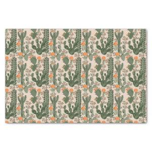 Colorful Cactus Pattern Tissue Paper