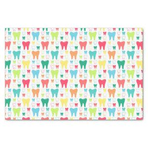 Colorful Teeth Pattern Tissue Paper
