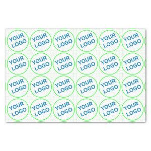 company logo brand pattern persomalized tissue paper