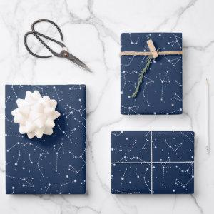 Constellations Wrapping Paper Sheets