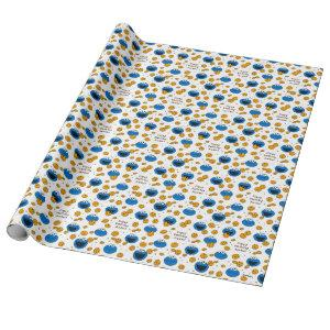 Cookie Monster | C is for Cookie Pattern Wrapping Paper