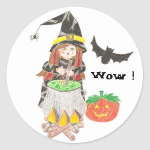 Cooking witch reward stickers