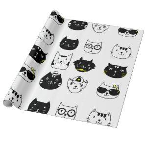Cool Cats wrapping paper for any occasion