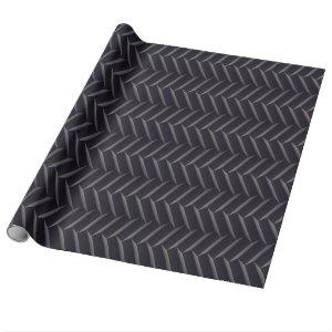 Cool Tire Tread Pattern Wrapping Paper