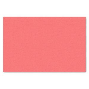 Coral Pink  (solid color)  Tissue Paper