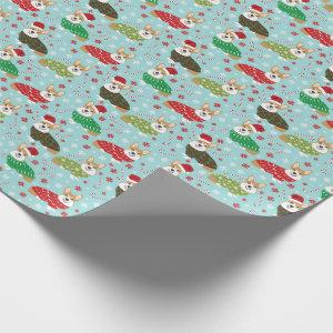 Corgi Christmas Sweater Gift Wrap