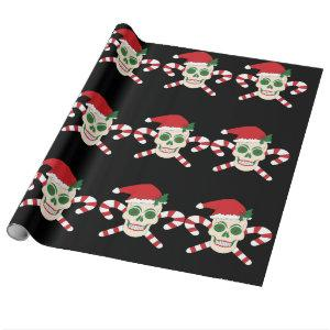 Creepy Christmas Wrapping Paper