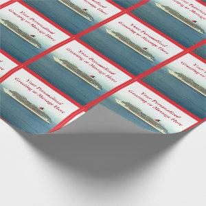Cruising the Tropics Personalized Wrapping Paper