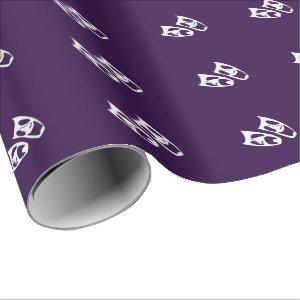 Custom Color Performing Arts Icon Gift Wrap