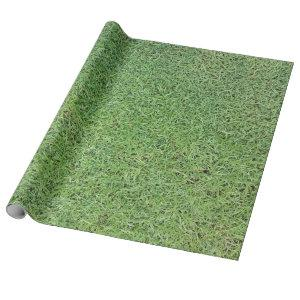 Cut Grass Lawn Wrapping Paper