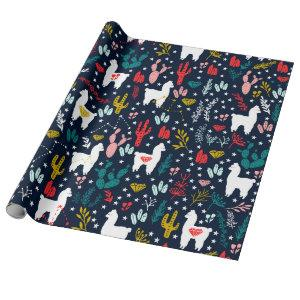 Cute Alpaca Wrapping Paper