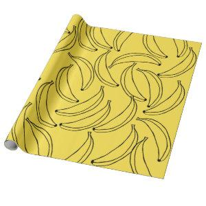 Cute Bananas Wrapping Paper