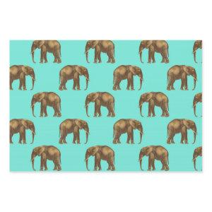 Cute Elephant Delight Wrapping Paper Sheets