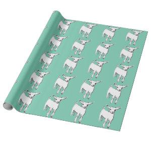 Cute Goat Kid Gift Wrapping Paper