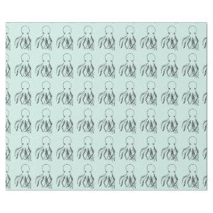 Cute Octopus Illustration Wrapping Paper