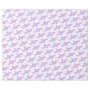Cute Purple Shark Wrapping Paper