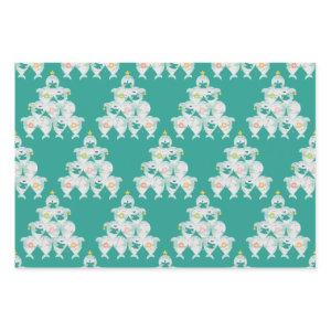 Cute Shark Christmas Tree Wrapping Paper Sheets