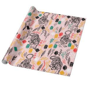 Cute Tiger Wrapping Paper