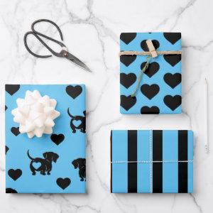 Dachshund Love Wrapping Paper Set