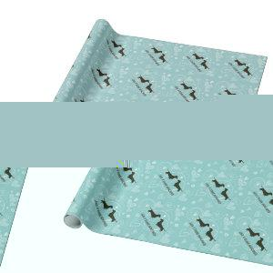 Dachshunds Wedding Bridal Shower Newlywed Cute Wrapping Paper