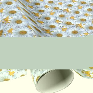 Daisy Wrapping Paper Personalized Gift Paper