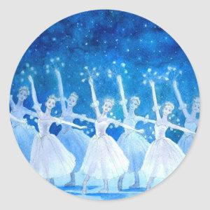 Dance of the Snowflakes Sticker