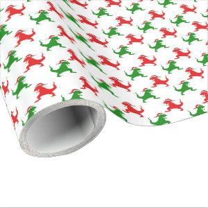 Dino Christmas Wrapping Paper