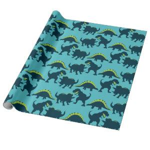 Dinosaur Birthday Wrapping Paper