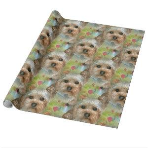 Dog 117 Yorkie Wrapping Paper