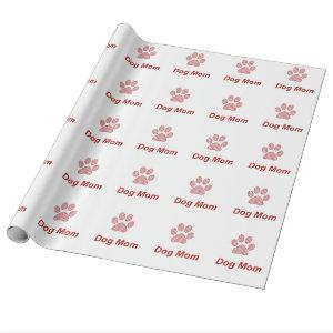 Dog Mom Gift Wrapping Paper