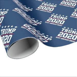 Donald Trump 2020 election Christmas Holiday Wrapping Paper