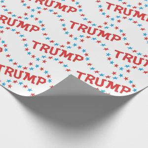 Donald TRUMP Election Gear Gift Wrap