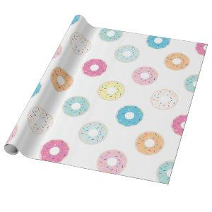 Donut Wrapping Paper