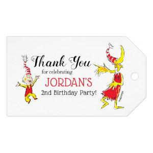 Dr. Seuss   Happy Birthday to You - Thank You Gift Tags