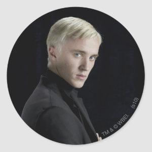Draco Malfoy Arms Crossed Classic Round Sticker