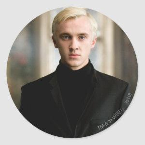 Draco Malfoy Straight On Classic Round Sticker
