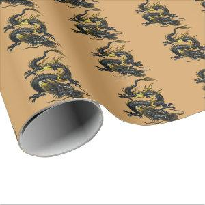 Dragon Wrapping Paper