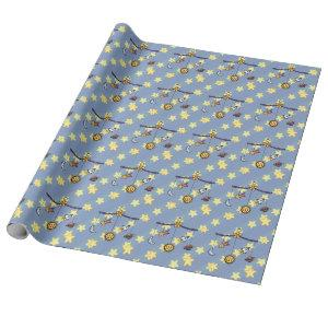 Dreams of Space Mobile Wrapping Paper
