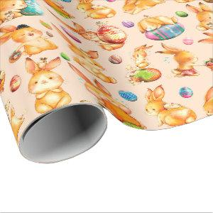 Easter Bunny Wrapping Paper