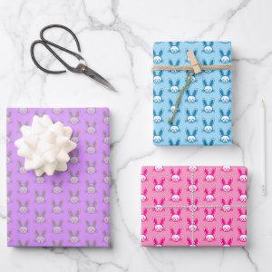 Easter Bunny Wrapping Paper Sheets