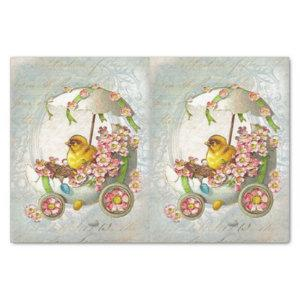 Easter Chariot Tissue Paper