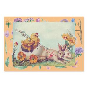 EASTER CHICKS AND FLOWERS WRAPPING SHEETS